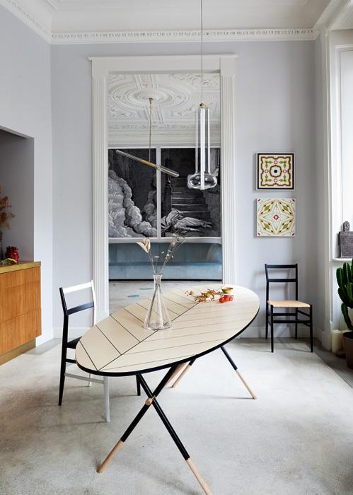 Italienische wohneleganz der interior designer pietro russo - Casa stile liberty ...