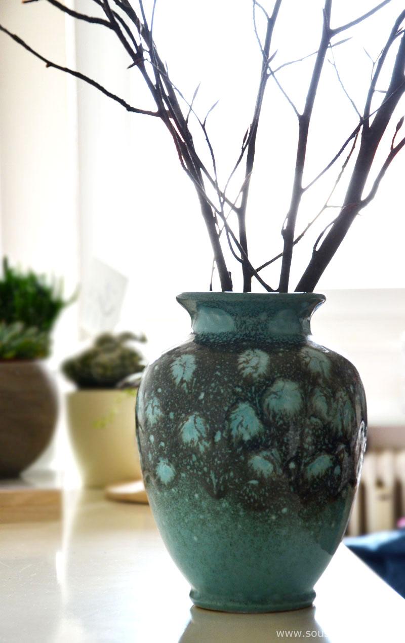 fundst cke individuelle vasen vom flohmarkt. Black Bedroom Furniture Sets. Home Design Ideas