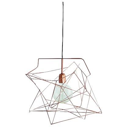 haengelampe braun house doctor. Black Bedroom Furniture Sets. Home Design Ideas