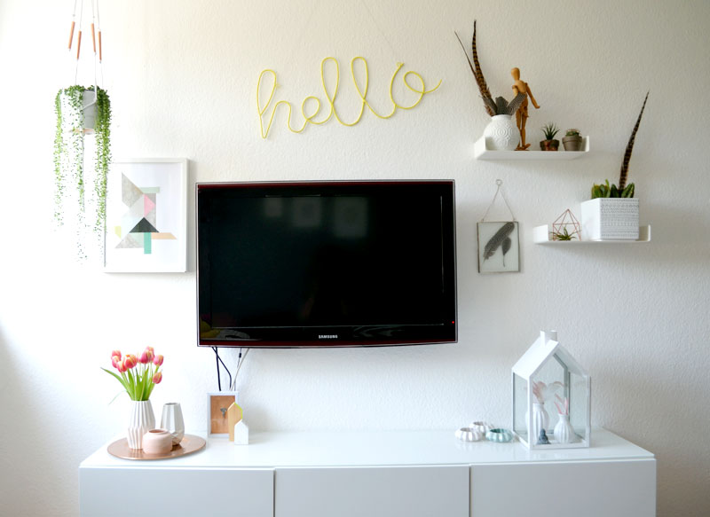 die makramanie geht weiter diy blumenampel mit kupfer update der tv ecke. Black Bedroom Furniture Sets. Home Design Ideas